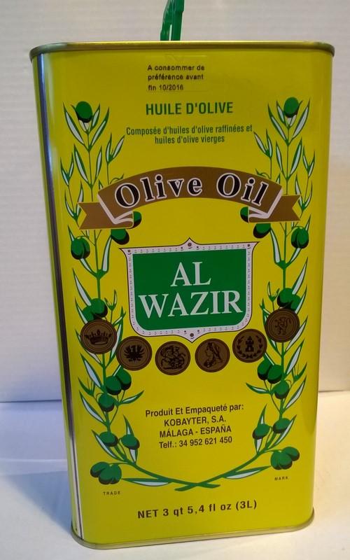 Al Wazir huile d'olive 3L