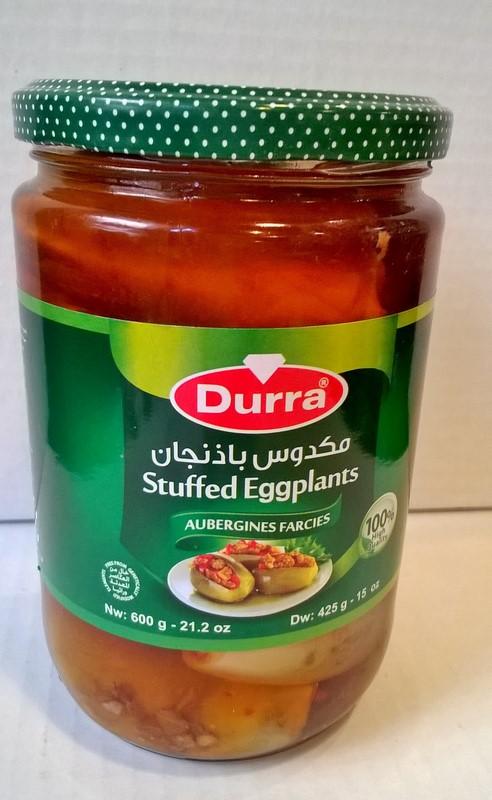 Aubergines farcies ou makdous 600 grs