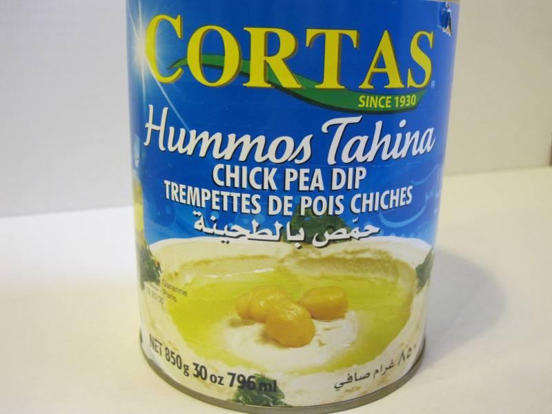 Hommos Tahina Cortas 850g