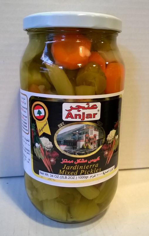 Jardinière de légumes marinés Anjar 1 kg