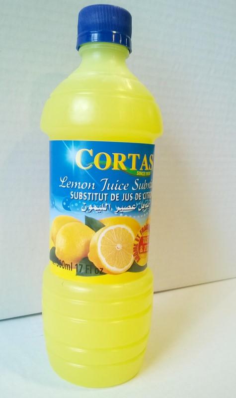 Jus de citron cortas 500 ml