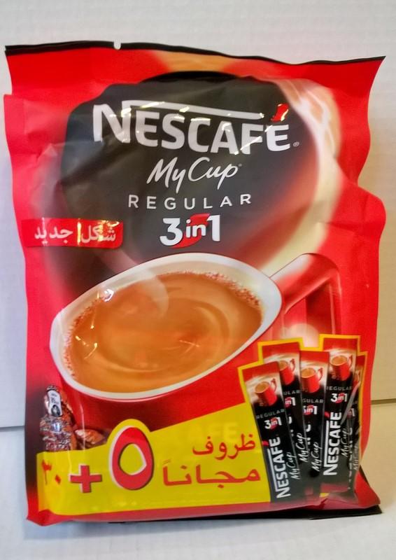 Nescafé 3 en 1 poche de 35 dosettes