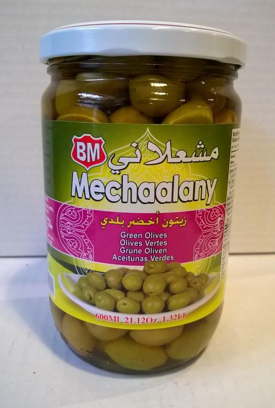 Olives vertes Mechaalany 600 ml
