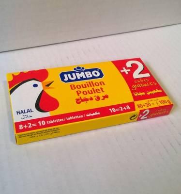bouillon de poulet jumbo 100 grs