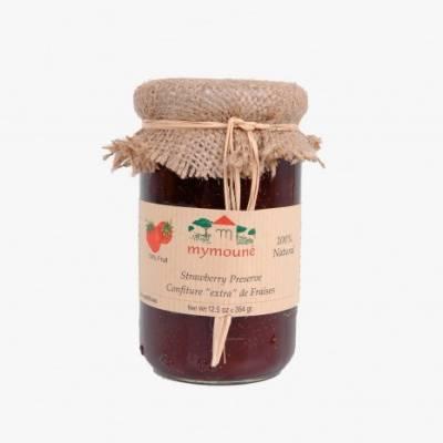 Confiture de fraises 350g