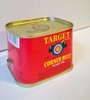 Corned beef Target brand 198 gr