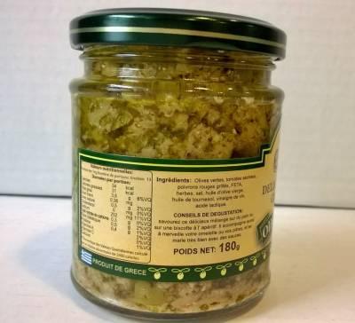 Délice d'olives grecques olive et feta 180 g