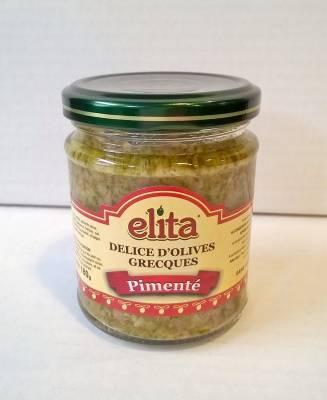 Délice d'olives grecques pimenté 180 g