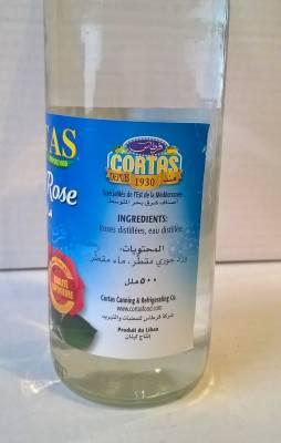 Eau de rose Cortas 500 ml