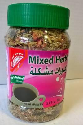 Herbes séchées pour infusions 80 grs