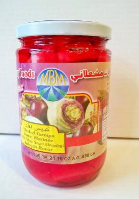 Navets marinés mechelany foods 430 g