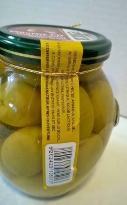 Olives grecques farcies aux amandes 360 grs